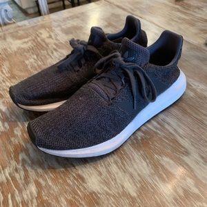 Adidas Gray Men's Swift Run Running Shoes